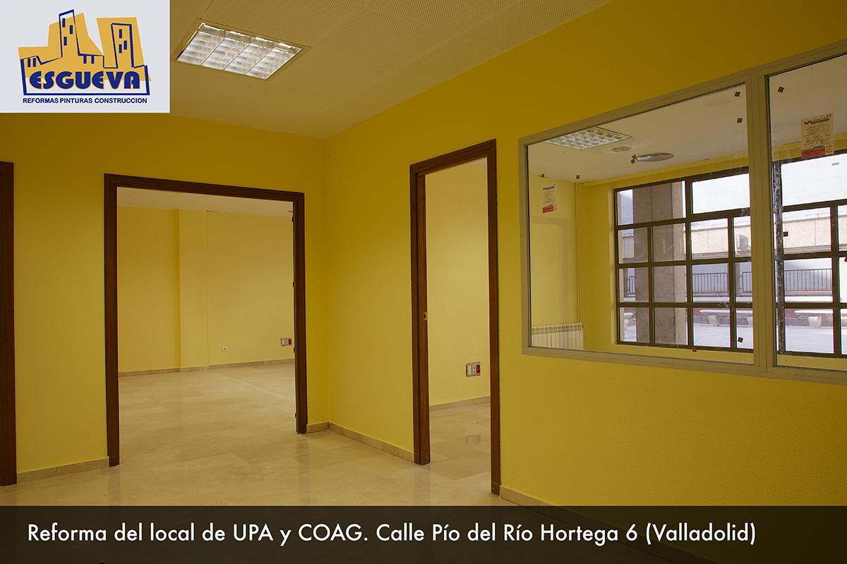 Reforma de local de UPA y COAG. C/ Pío del Río Hortega (Valladolid)