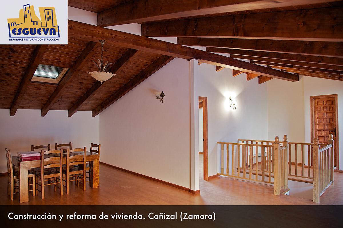 Construcción y reforma de vivienda en Cañizal (Zamora)