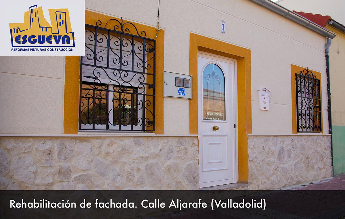 Rehabilitación de fachada C/ Aljarafe (Valladolid)