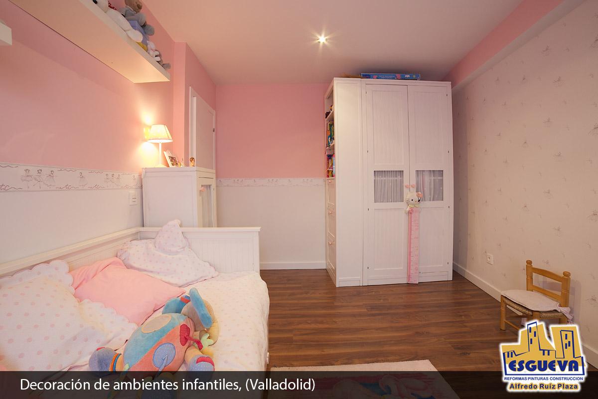 Decoración de ambientes infantiles, (Valladolid)