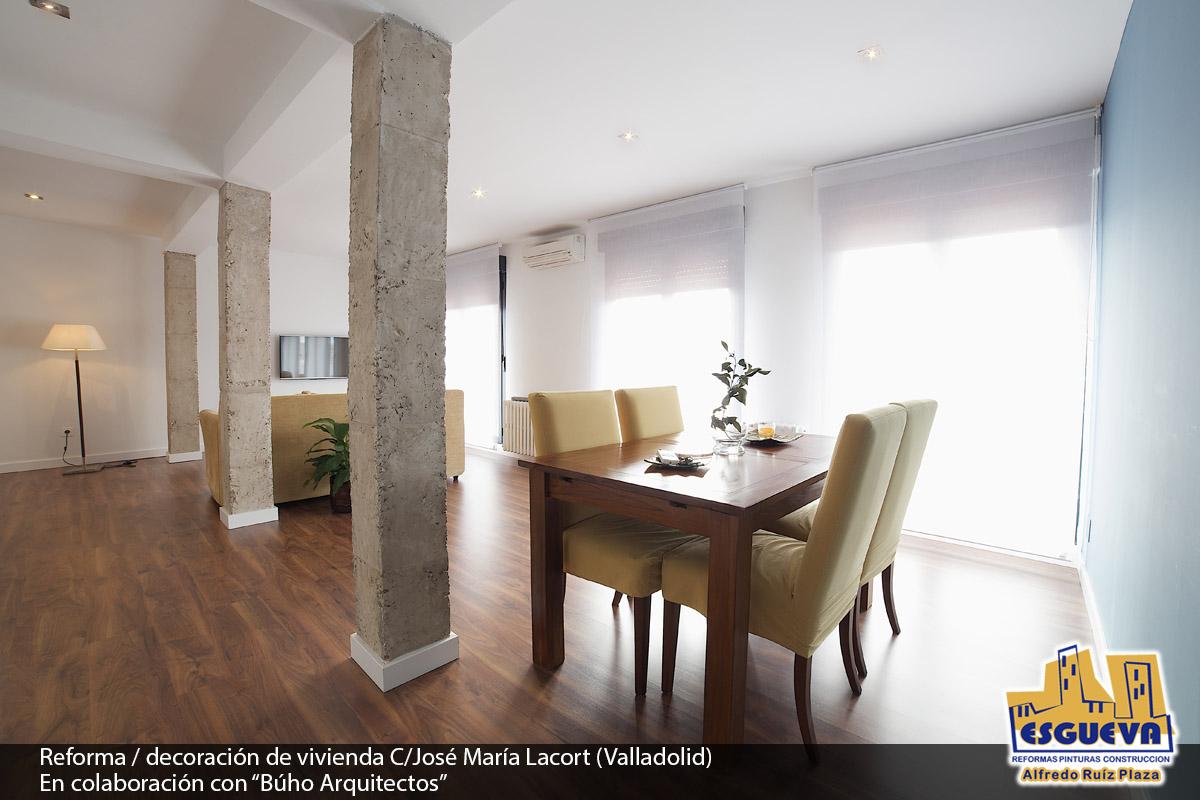 Reforma/decoración de vivienda C/ José María Lacort (Valladolid)