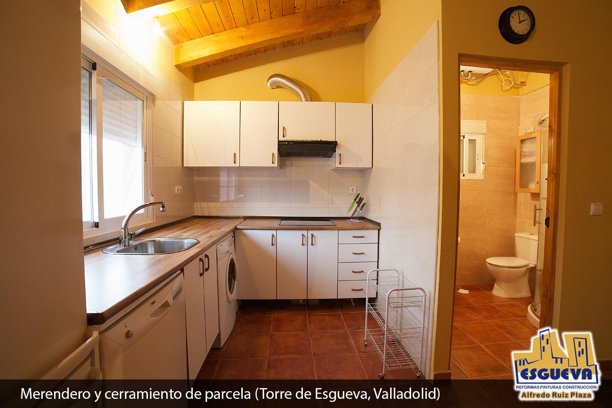Merendero y cerramiento de parcela (Torre de Esgueva, Valladolid)