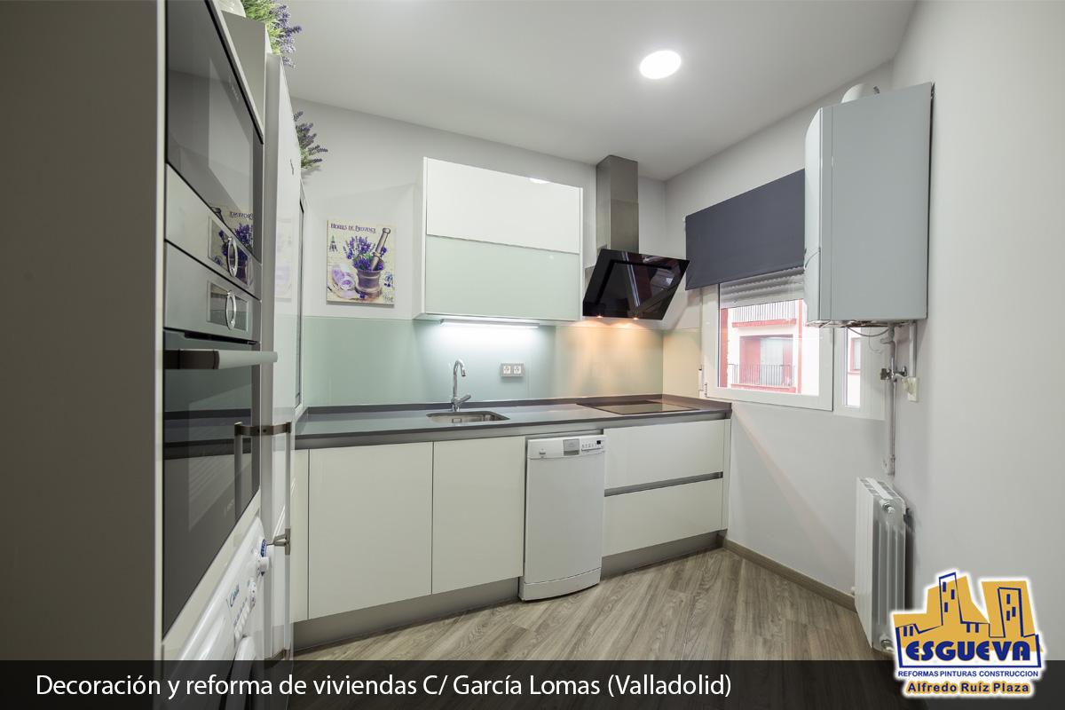 Decoración y reforma de vivienda en C/ García Lomas (Valladolid)