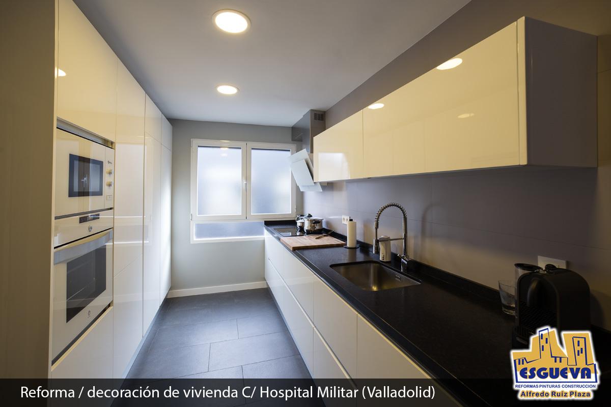 Reforma / decoración de vivienda en la C/ Hospital Militar (Valladolid)