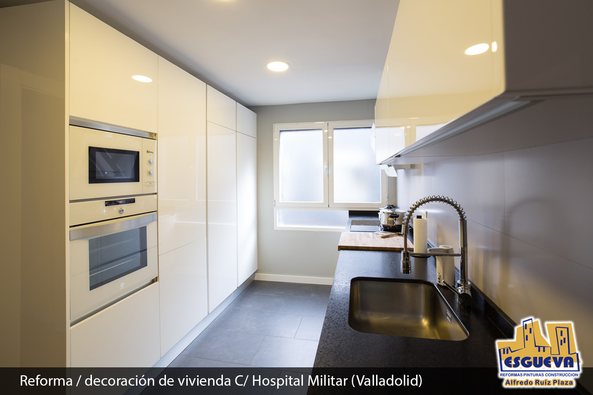 Reforma decoración de vivienda en la calle Hospital Militar (Valladolid)