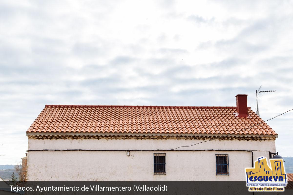 Reforma de tejado en Villarmentero Valladolid