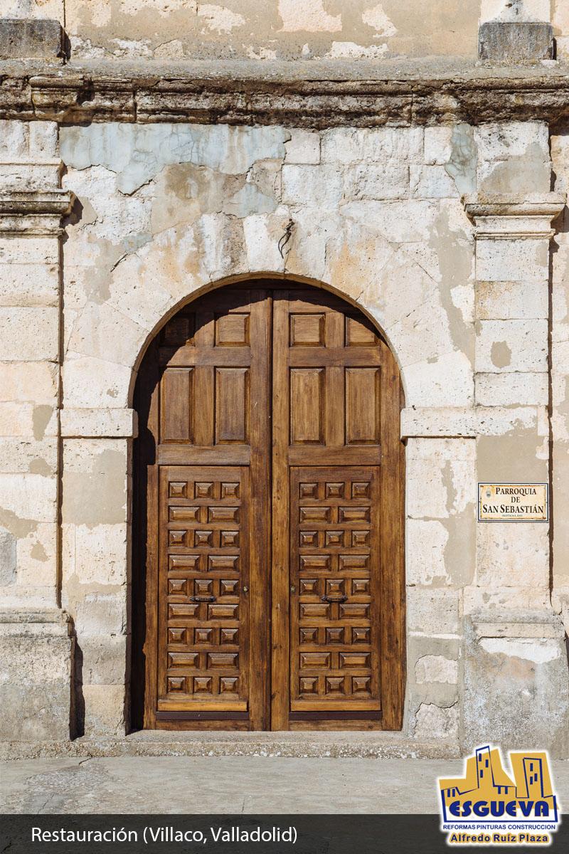 Restauración en Villaco (Valladolid)